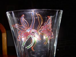 Glass painting on Vast by light-kitty