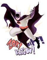 Adam West Batman by DarthTerry