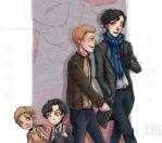 Sherlock and John Art trade by Kayetart
