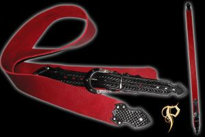 Buffalo Hide Guitar Strap by Azmal