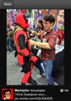 Mark thinks deadpool won LOL LMAO by MalGirl101