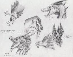 Dragon Head Requests by 8TwilightAngel8
