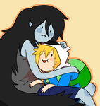 AT: Marcy and Finn by NyanNekiro