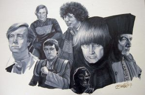 Portrait of Sci-fi Men by Marker-Mistress
