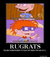 Rugrats Demotivational Poster by Dante-Hinomori