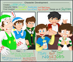 Character Development Meme: Nosejobs by lewisrockets