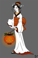 Happy Halloween 'Geisha' 06 by halflingsera