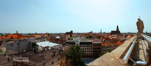 Wroclaw city panorama by Unpropitious