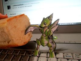 Paperchild 196.Pokemon#123 - Scyther by FuriarossaAndMimma