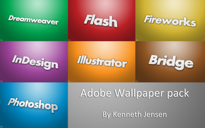 Adobe Wallpaper Pack by KennethJensen
