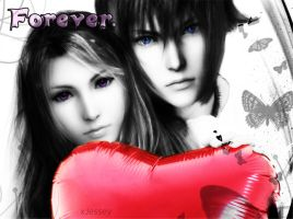 Stella and Noctis: Forever by xJessey
