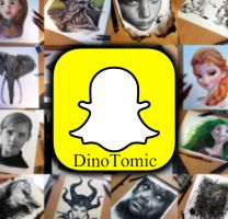 Snapchat : DinoTomic by AtomiccircuS