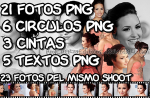 Pack de Fotos Png de Demi Lovato by AnyCuervaEditions