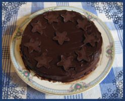 Queen of Sheba Chocolate Cake by Evergreen-Willow