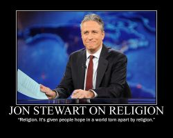 Jon Stewart on Religion by fiskefyren