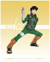 Rock Lee Shippuden by erickenji