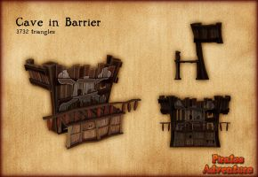 PH - Cave-in Barrier by PiratesAdventure