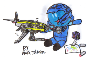 Hero Chibis - Hero Pilot at Playskool by KrytenMarkGen-0