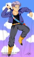 DBZ: Future Trunks by S-Pan