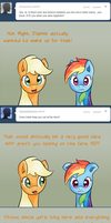 Ask Appledash - More Than Words by RatofDrawn