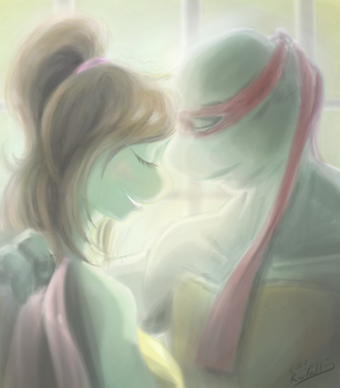 TMNT Just the  Two of Us by theblindalley