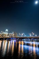 city lights by sandeepsarma