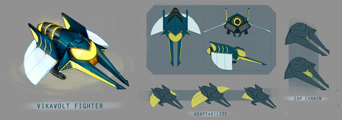 Vikavolt Fighter by tiagorcp