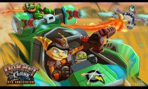 Ratchet and Clank- Drive It! by Gashu-Monsata