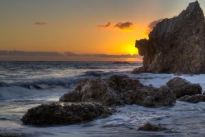 Sunset on El Matador by PaulBrozenich