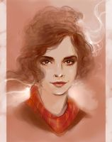 Hermione by Elf-in-mirror