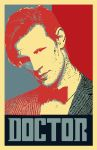 11th Doctor_ Hope Parody Poster by bluepen731