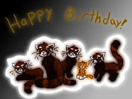 A Very Panda Birthday by PurryProductions-Inc