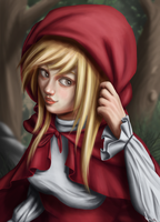 Red Riding Hood by AnnePagno