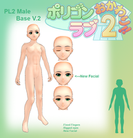 PL2- Male Base V.2 by MMDFakewings18