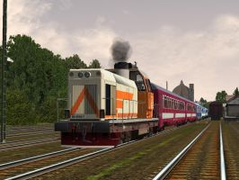 International Train II - Alfold by Sadguardian