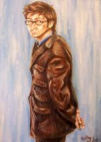 A Painting of Dr Who by Orlifan