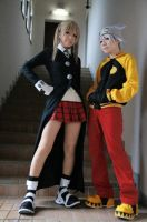 Maka Albarn and Soul Eater cosplay by MasterRAYs