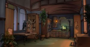 Fortuneteller's study by AnDary