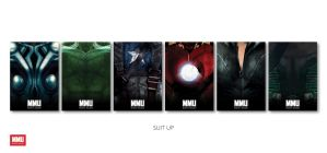 Suit Up Posters by MarvelMashup