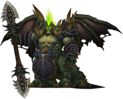 Mannoroth, The Destructor by Daerone