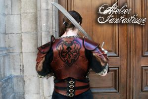Shaktar leather armor by AtelierFantastique