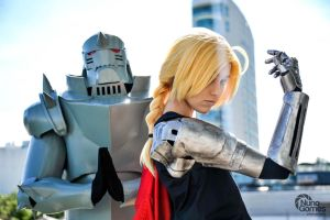 Edward and Alphonse Elric cosplay by GeazakiCosplay
