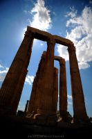 Temple of Zeus by drewhoshkiw