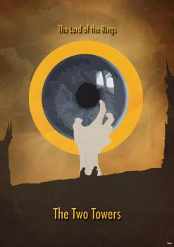 The Lord of the Rings 2 - Minimalist Poster by Tchav