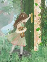 PASS Watercolor: Opening the Door by NightsongWS
