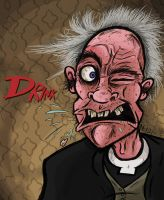 Father Jack (for draw this again meme) by GagaMan