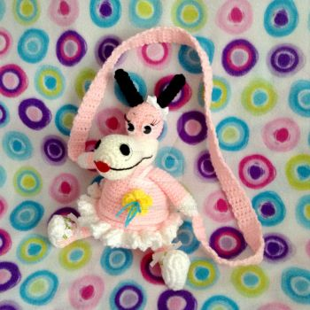 (Ballerina) Crochet Toontown Horse Purse by MadameWario