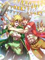 Happy New Year 2013 Aeria-comic by arseniquez