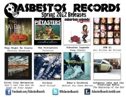 Asbestos Records Spring Teaser 2012 by gotsubverted