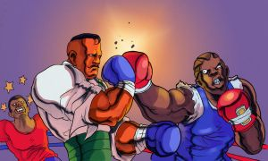 Dudley vs. Balrog by Phobos-Romulus